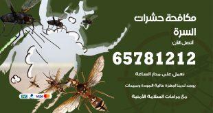 مكافحة حشرات السرة