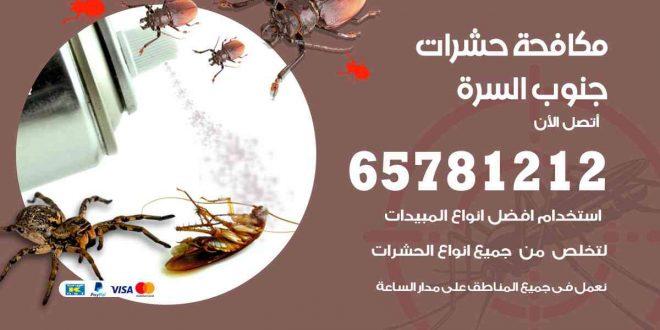 مكافحة حشرات جنوب السره