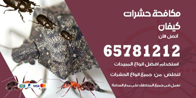 مكافحة حشرات كيفان